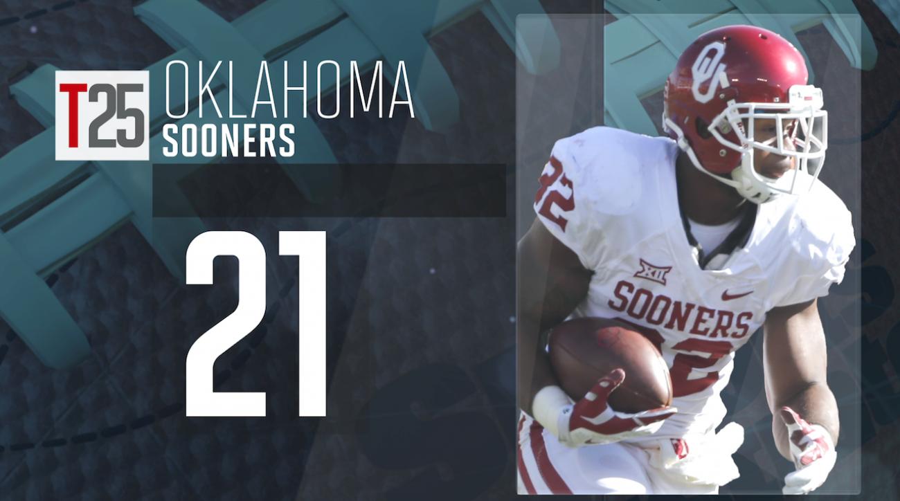 2015 college football preseason Top 25: Oklahoma Sooners, No. 21 IMG