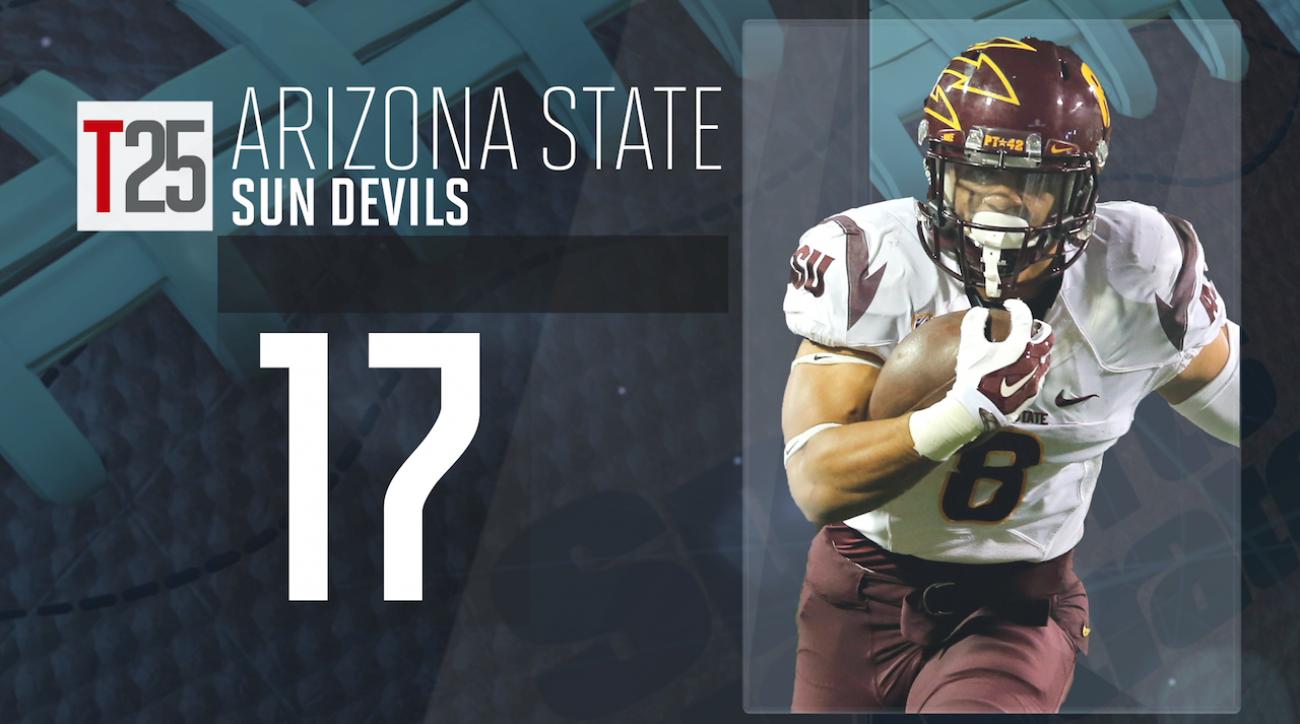 2015 college football preseason Top 25: Arizona State Sun Devils, No. 17 IMG