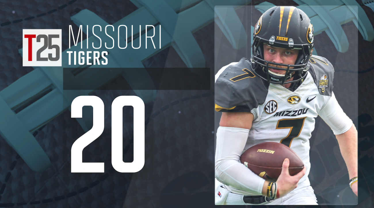 2015 college football preseason Top 25: Missouri Tigers, No. 20 IMG