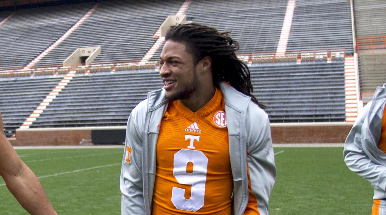 University of Tennessee WR Von Pearson won't be charged with rape IMAGE