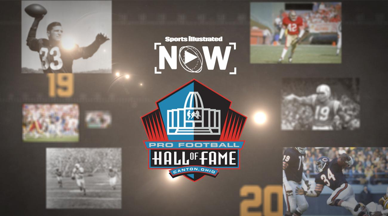 Pro Football Hall of Fame, nfl hall of fame, 2015 NFL Hall of Fame, NFL Hall of fame president David Baker, 2015 Hall of Fame inductee Tim Brown, tim brown, Hall of Famer Don Shula