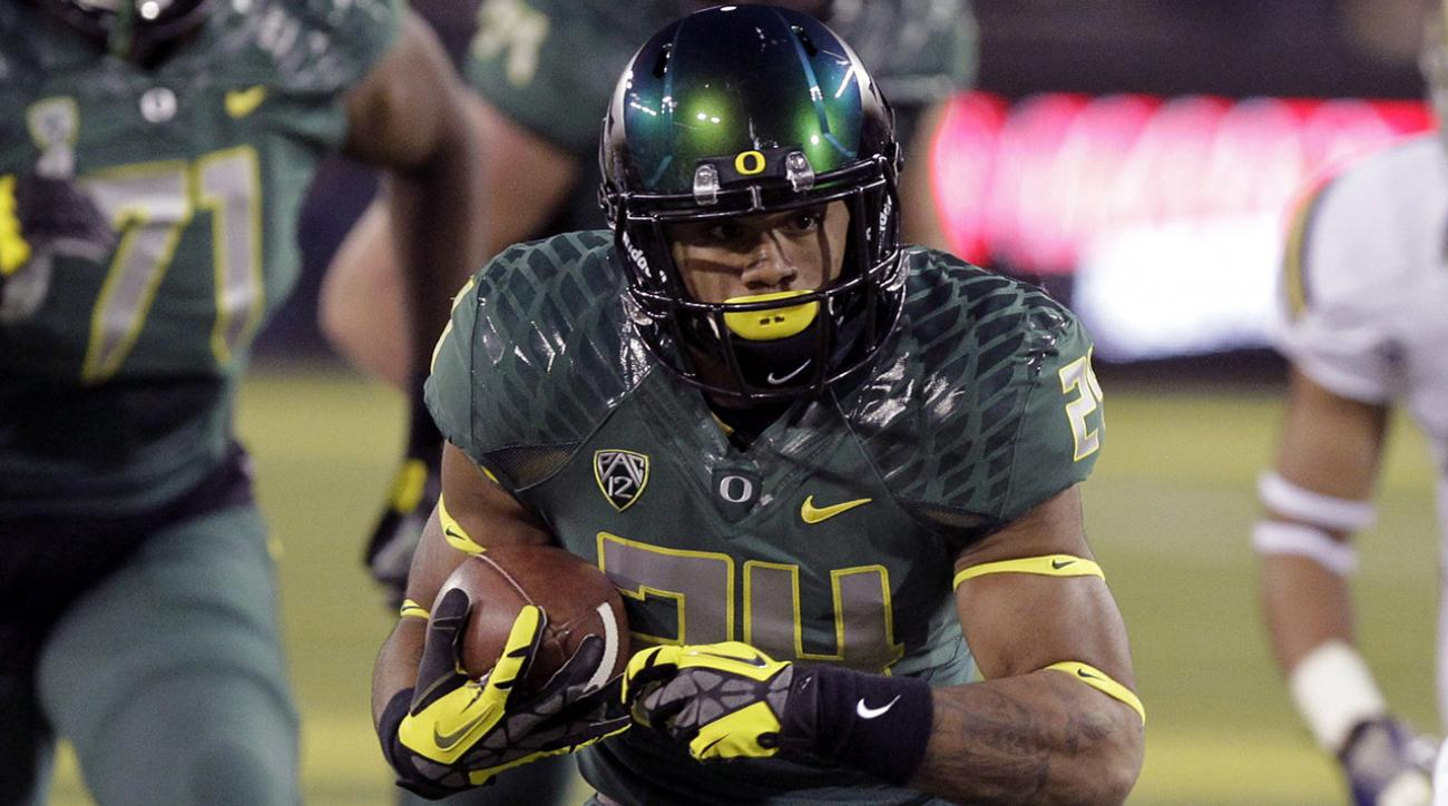 Report: Oregon running back Thomas Tyner out for 2015 season