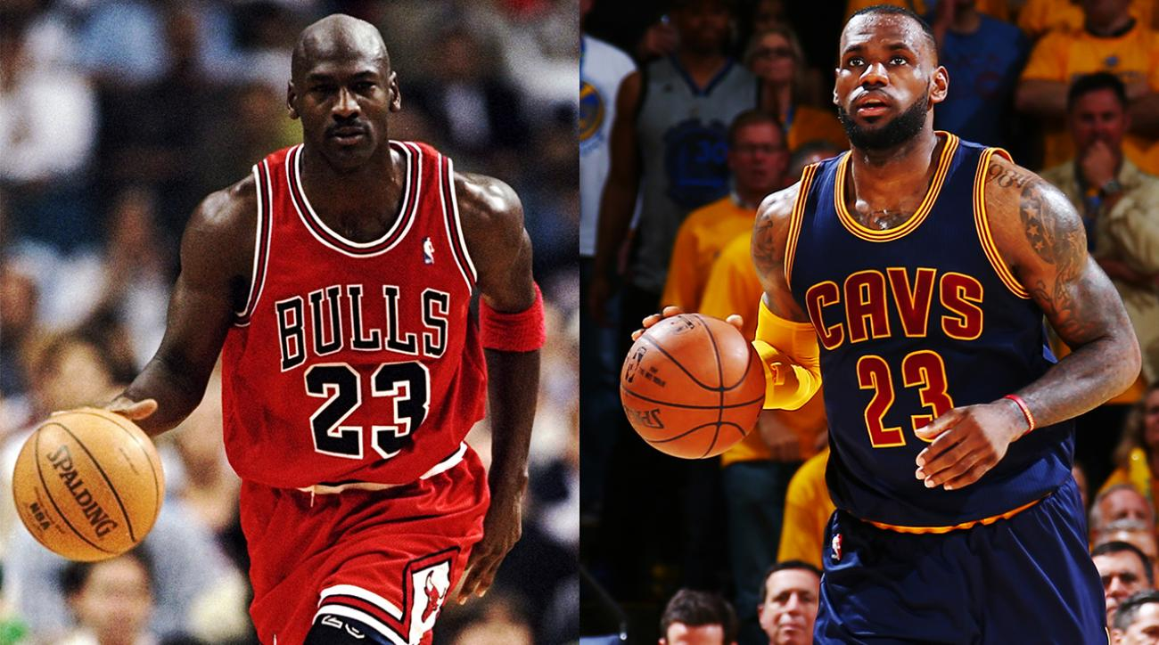 Michael Jordan says he could've beaten LeBron in prime