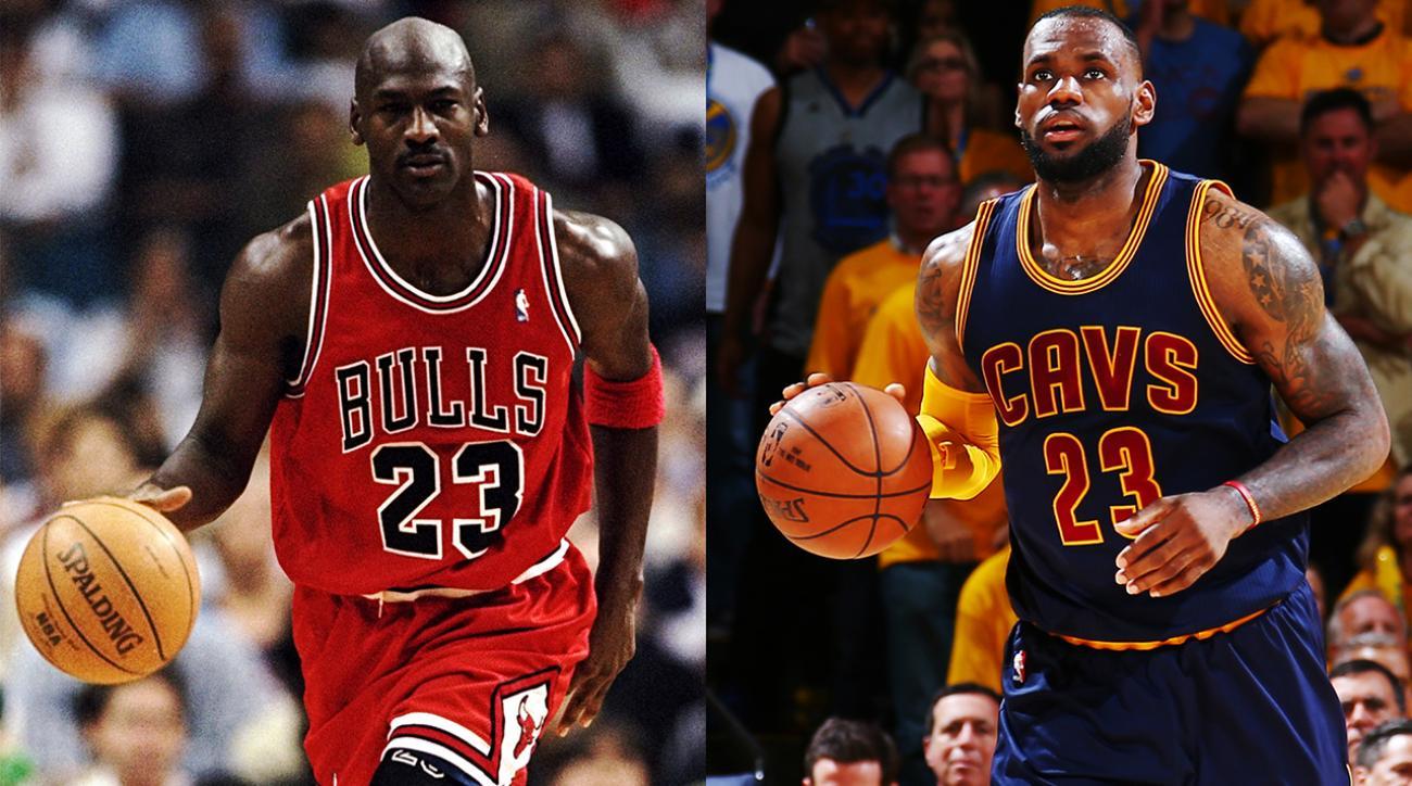 Michael Jordan says he could've beaten LeBron in prime