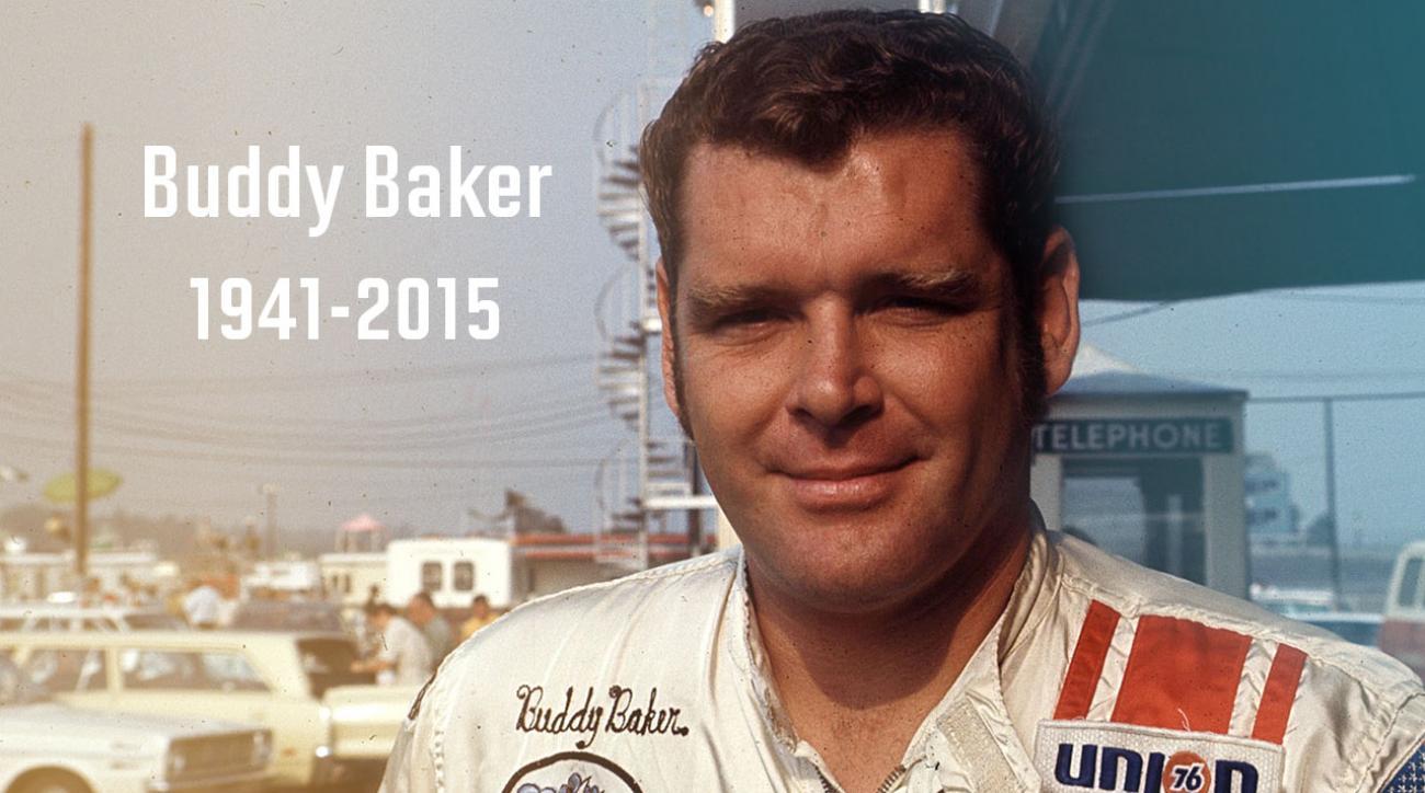 NASCAR legend Buddy Baker dies at 74