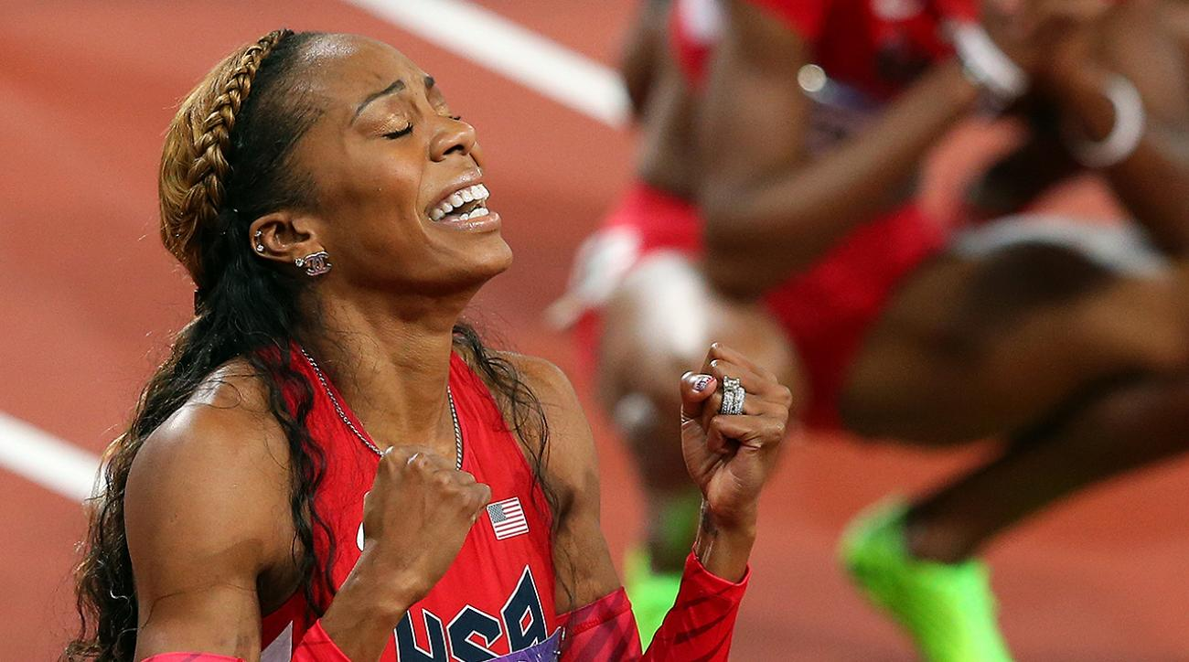 sanya richards-ross, 4-time gold medalist, 4-time olympic gold medalist, Women's 400m, Women's 4x400m relay, London Olympics 2012, beijing Olympics 2008