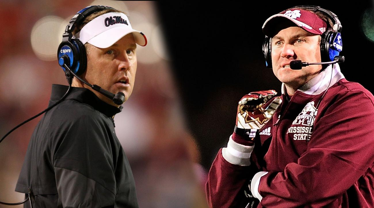 Hugh Freeze, Dan Mullen call for change in state flag