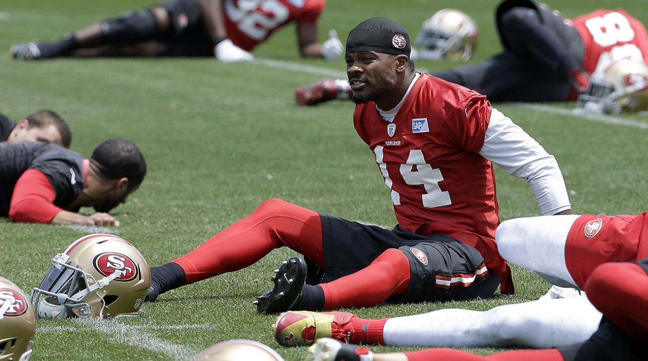 49ers receiver Jerome Simpson suspended six games IMAGE
