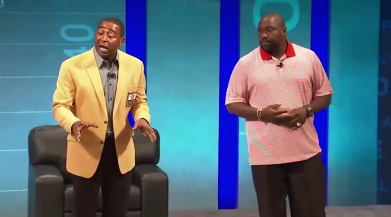 Cris Carter on fall guy comments:  'my heart was in the right place' IMAGE