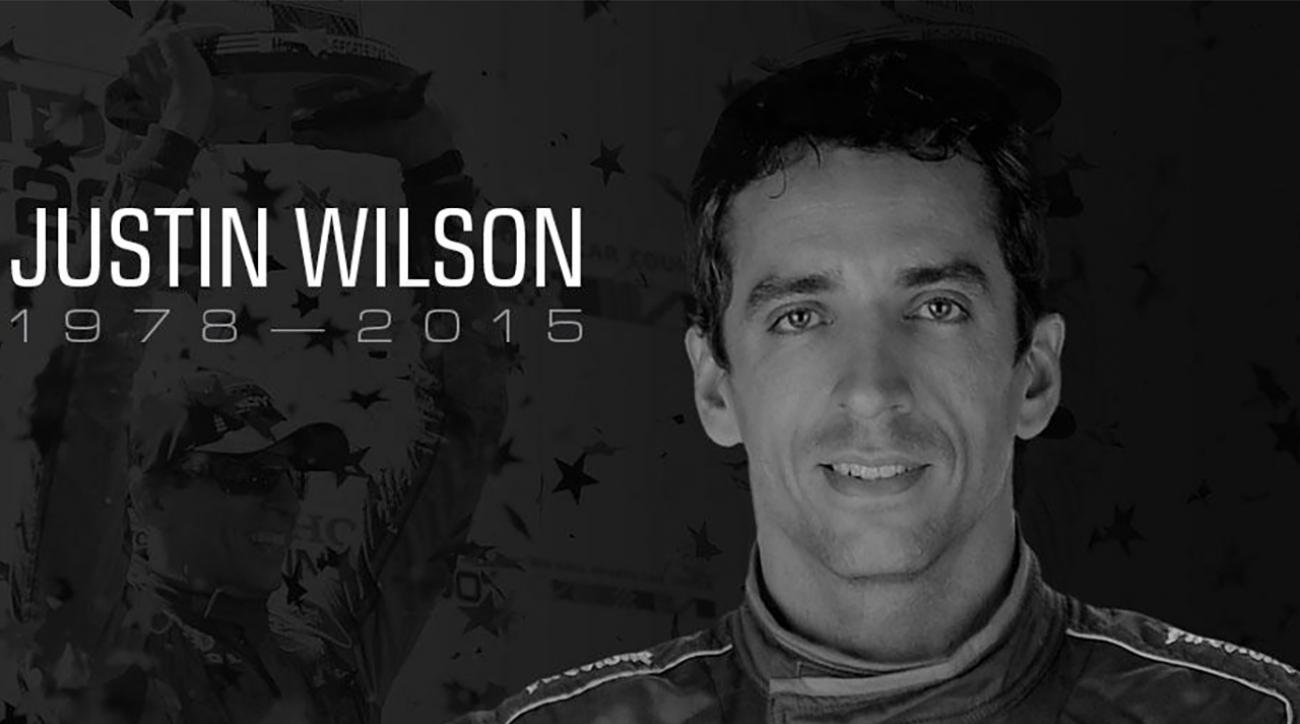 IndyCar driver Justin Wilson dies after suffering head injury during race (IMAGE)