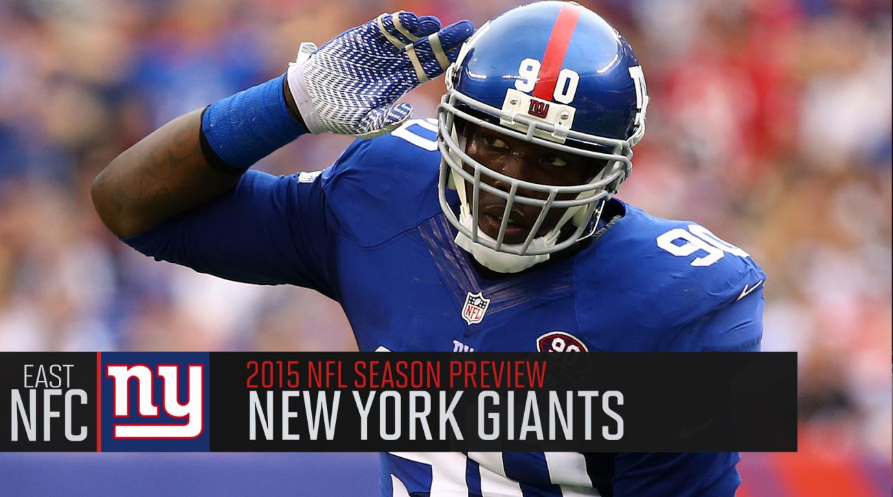 New York Giants 2015 season preview