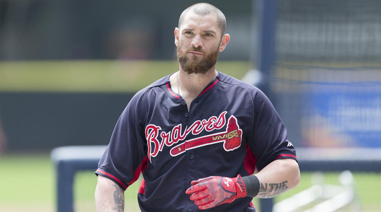 Kansas City Royals acquire OF Jonny Gomes from Atlanta Braves IMAGE
