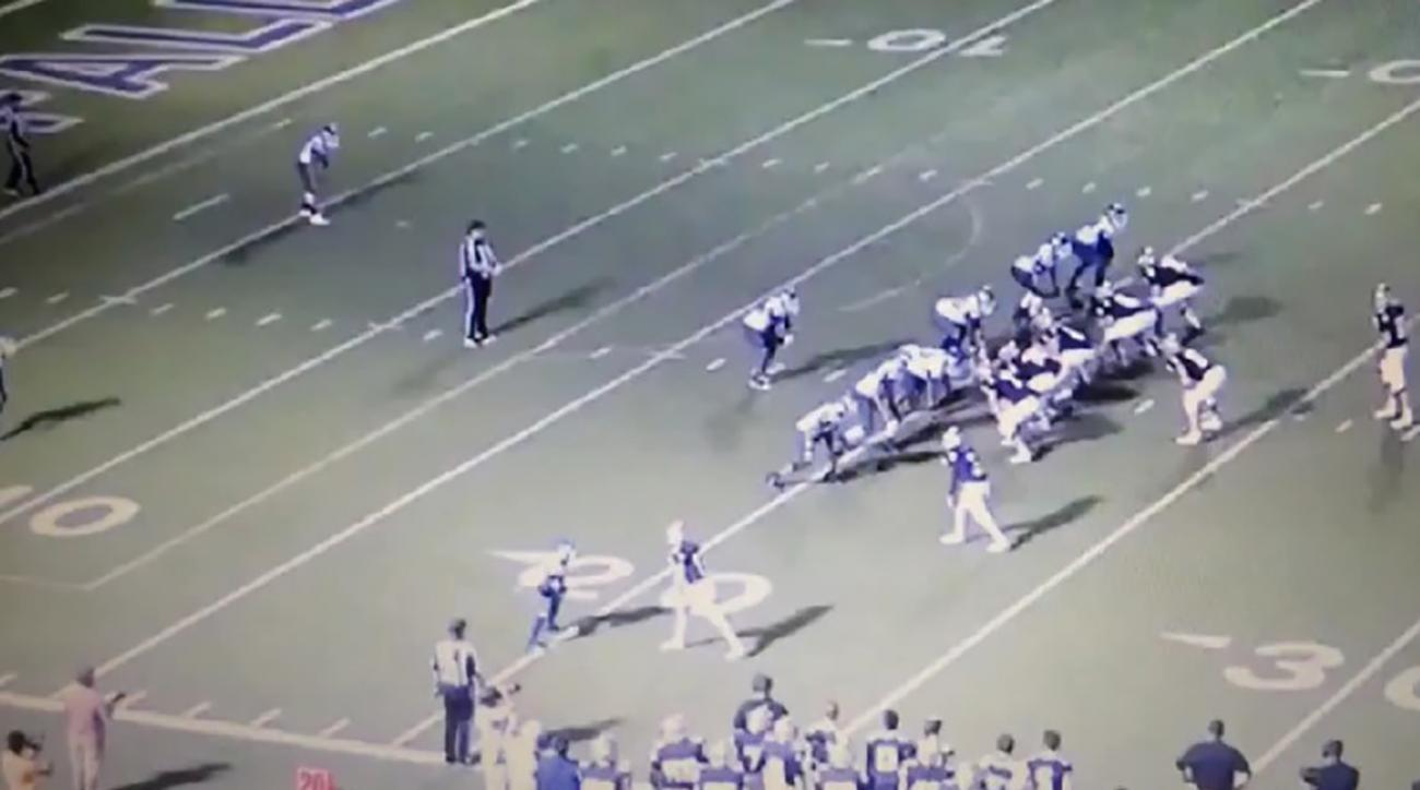 Referee Targeting In San Antonio High School Football Game
