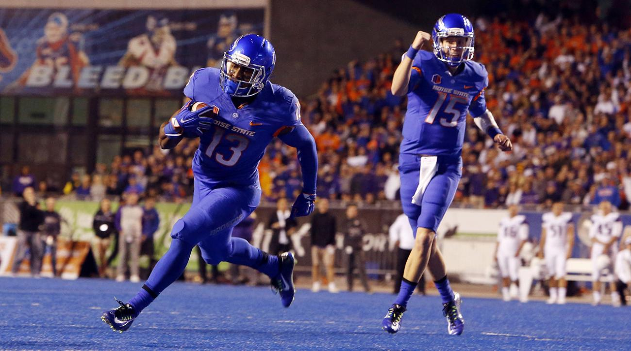Boise State Broncos, BYU Cougars, ncaaf, si video, college football schedule, byu boise, week 2 schedule
