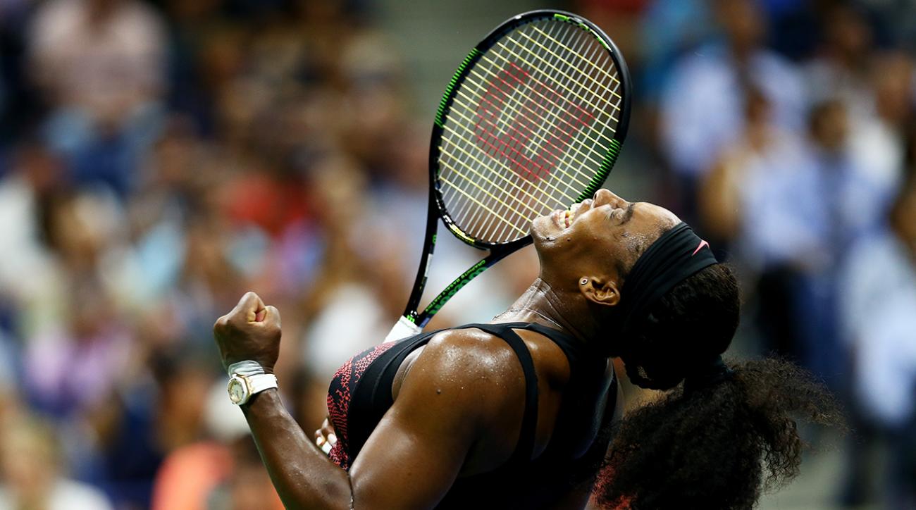 Serena Williams tops sister Venus at U.S. Open IMAGE