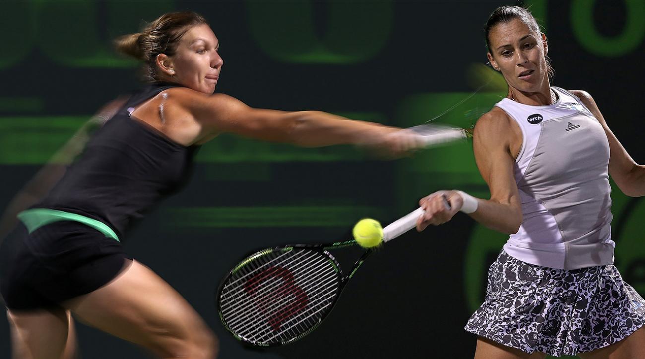 U.S. Open Women's Semifinals Preview: Flavia Pennetta vs. Simona Halep IMG