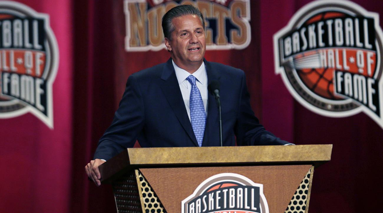John Calipari enters hall of fame