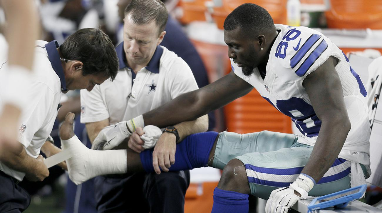 Cowboys WR Dez Bryant out 4-6 weeks with broken bone in foot IMAGE