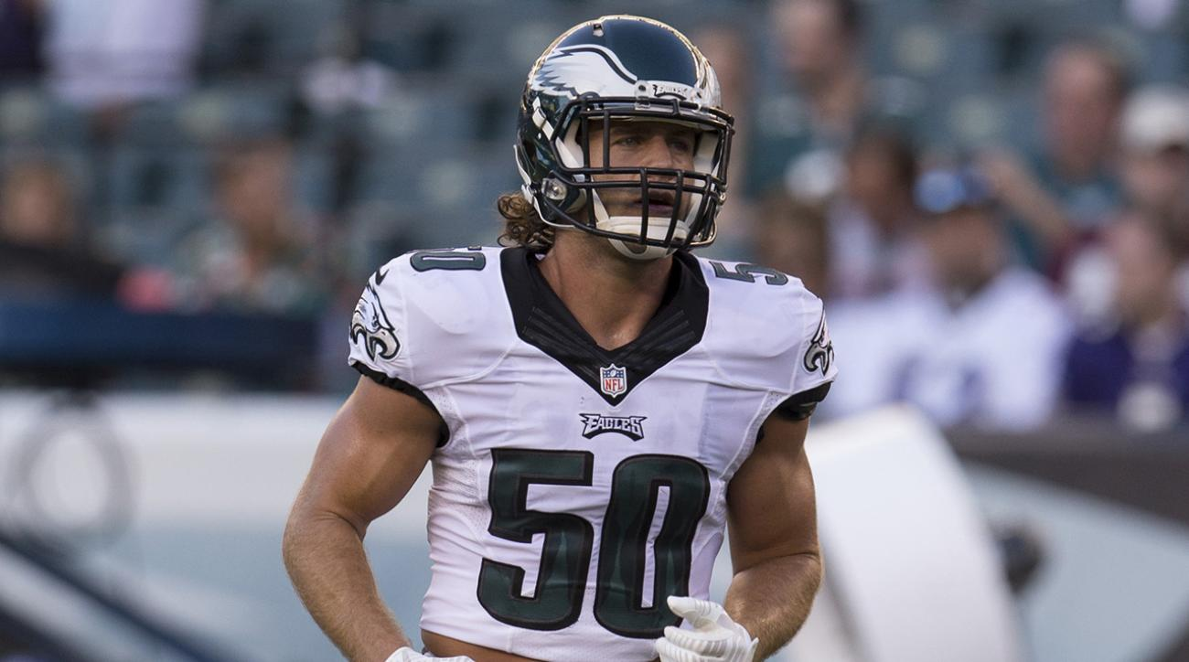 Reports: Eagles LB Kiko Alonso has partial ACL tear