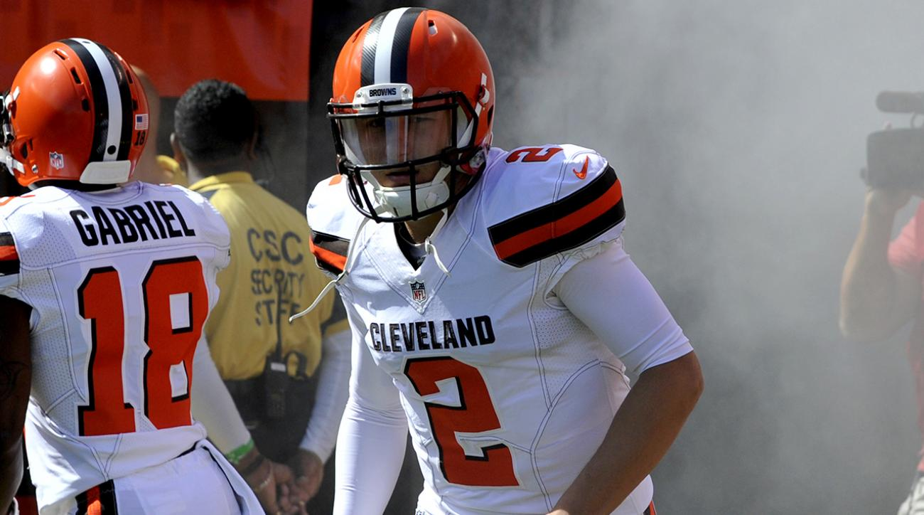 Breaking down Johnny Manziel's first two games of 2015