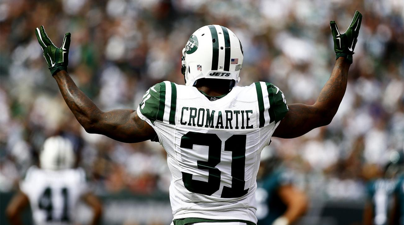 Jets coach's son insults players on Twitter, Antonio Cromartie responds