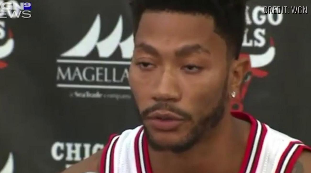 Derrick Rose on rape allegations: I will be proven innocent