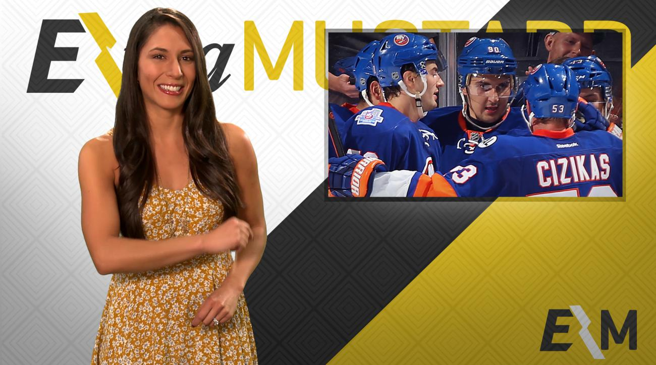 Mustard Minute: You're going to hate the Islanders' new goal horn IMG