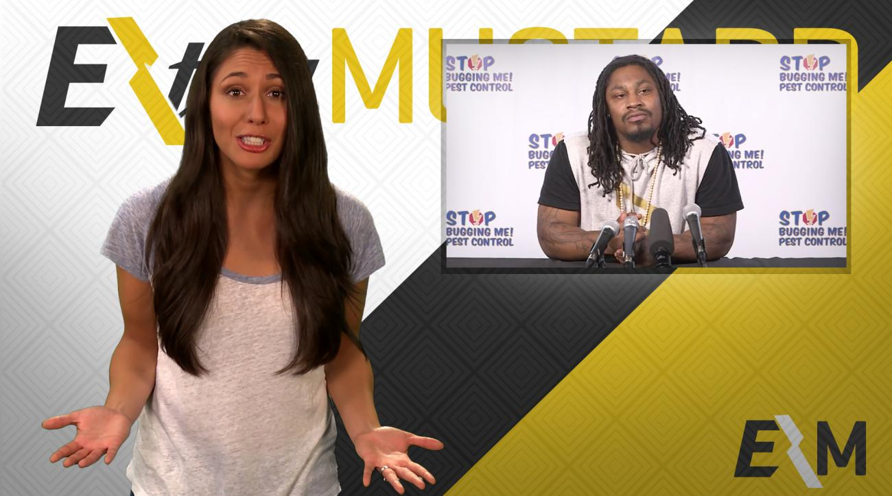 Mustard Minute: Marshawn Lynch stars in local pest control commercial IMG