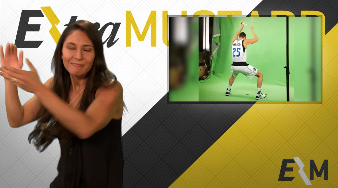 Mustard Minute: Chandler Parsons' cowbell will make you feel better IMG