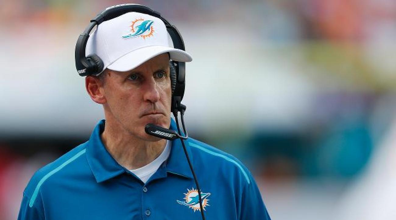 Miami Dolphins fire head coach Joe Philbin