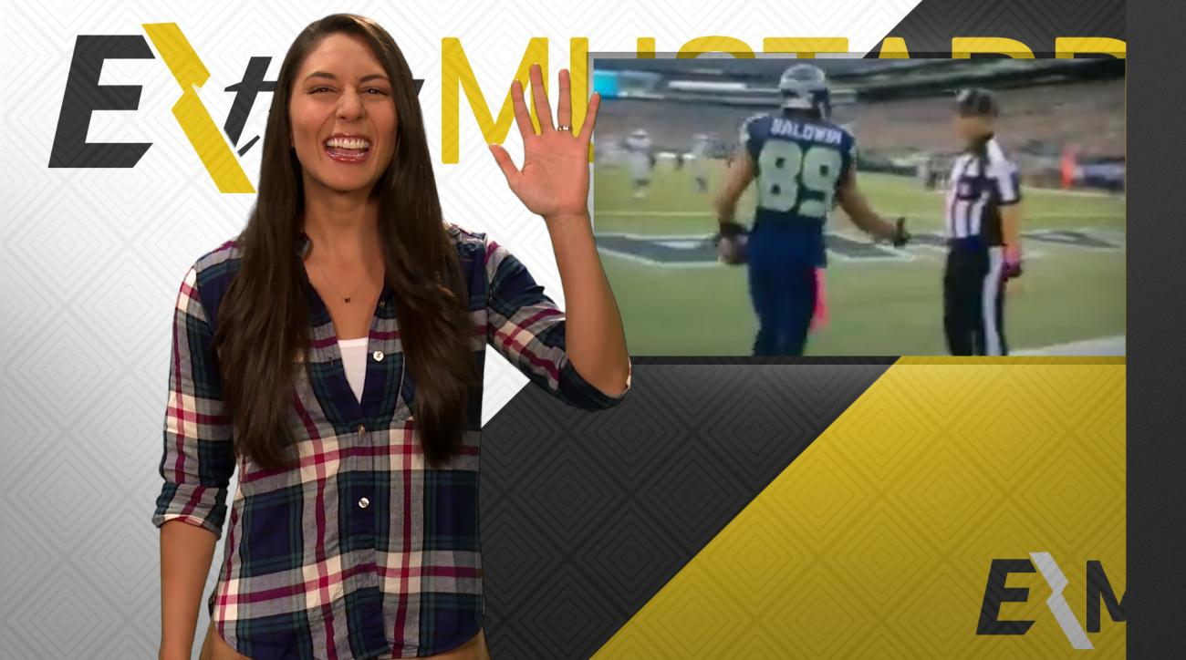 Mustard Minute: Seahawks WR Doug Baldwin left hanging by referee IMG