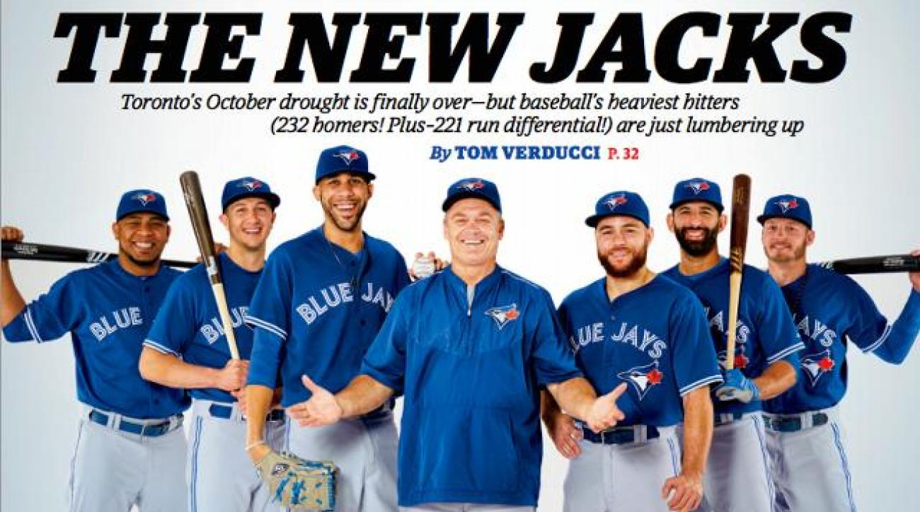 Toronto Blue Jays land cover of Sports Illustrated