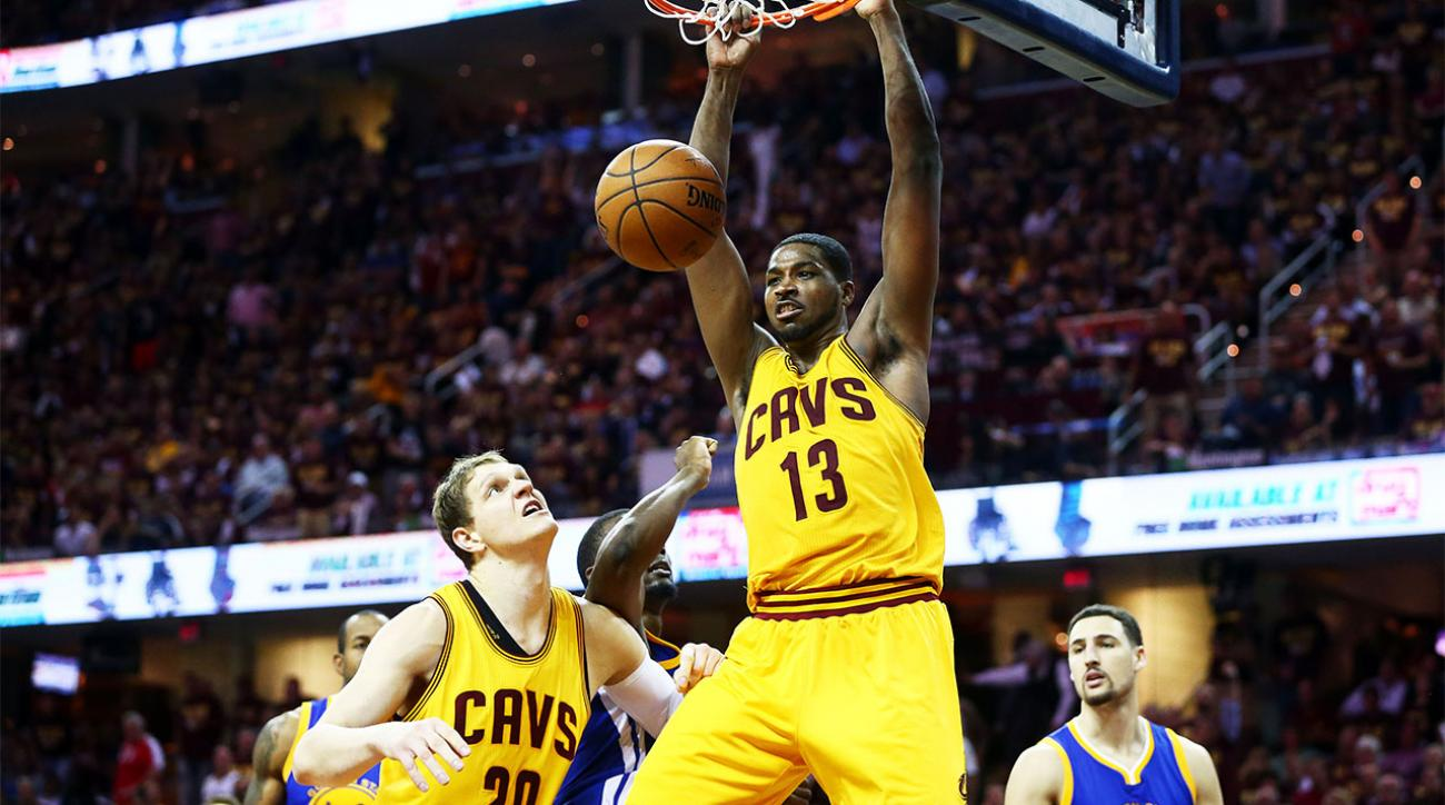 Report: Tristan Thompson holdout may go into regular season