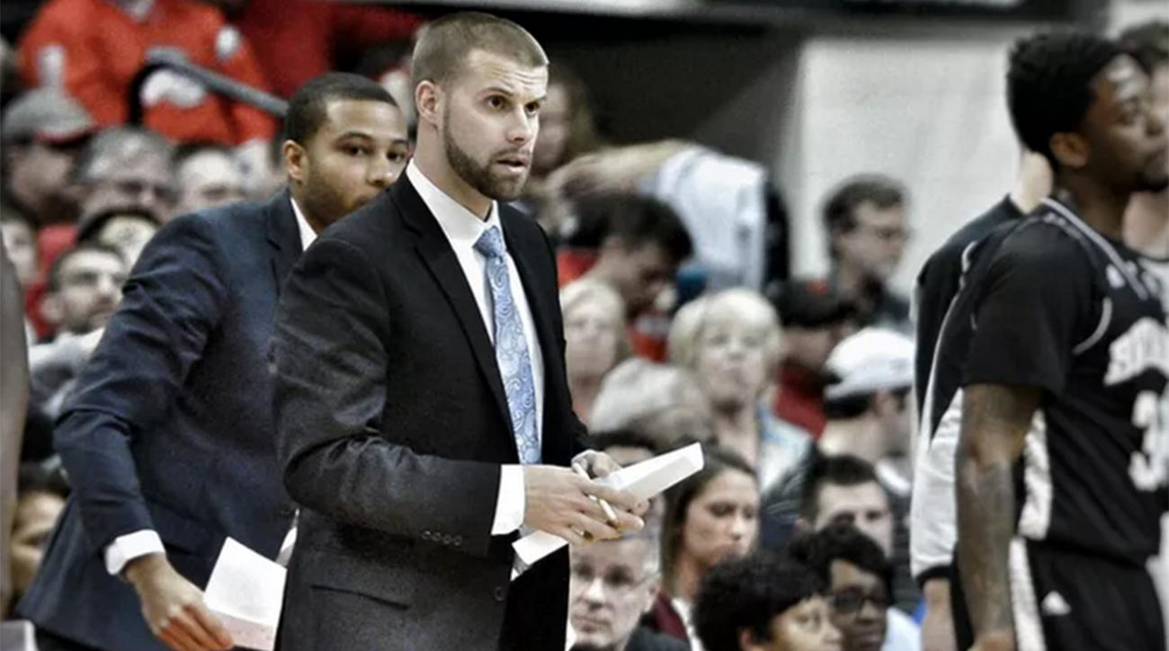 Bryant University's Chris Burns becomes first openly gay coach in D-I men's hoops IMAGE