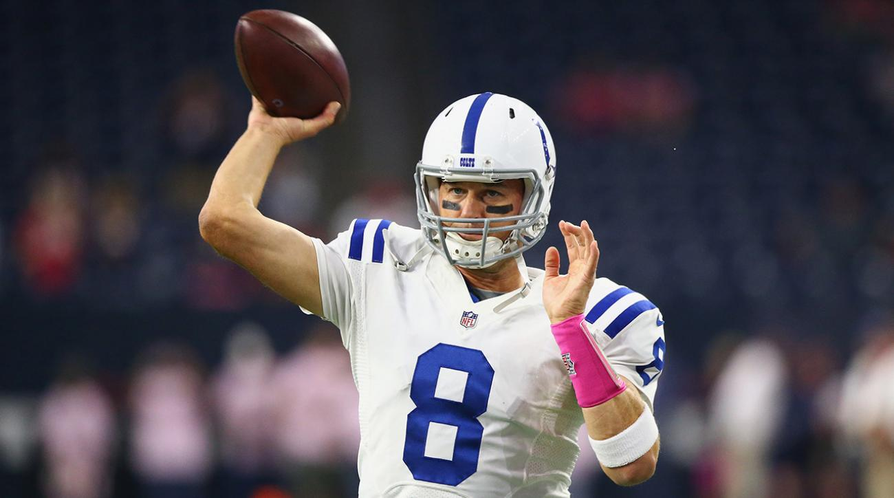 Despite illness, Matt Hasselbeck leads Colts to victory  IMAGE