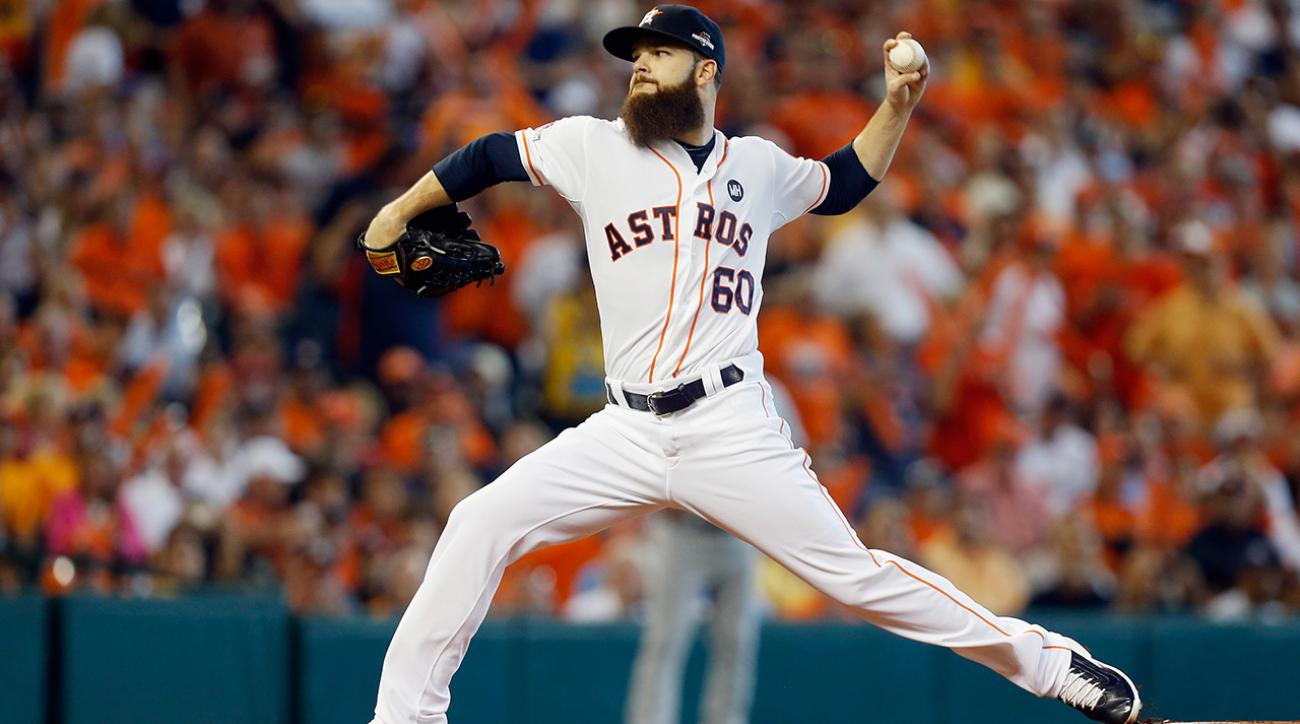 Dallas Keuchel dominates in 4-2 win over Royals, Astros take 2-1 ALDS lead IMAGE