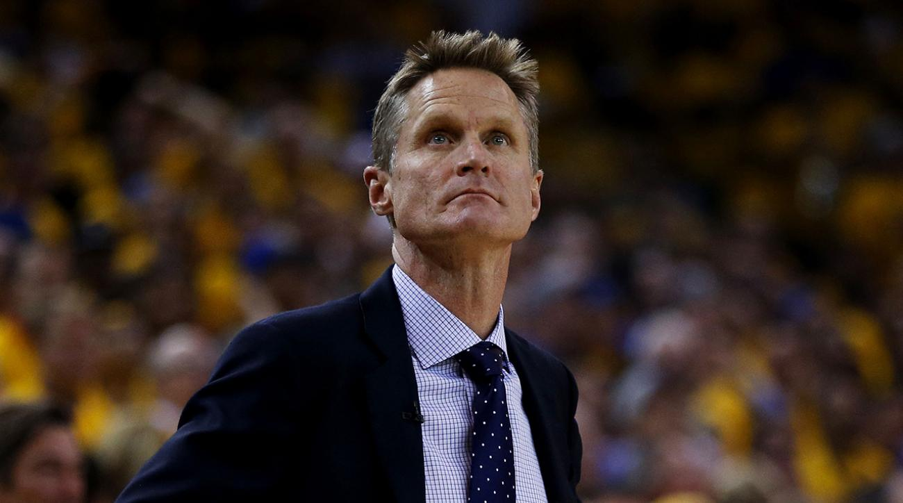 Warriors coach Steve Kerr: Spinal fluid leak reason for leave of absence
