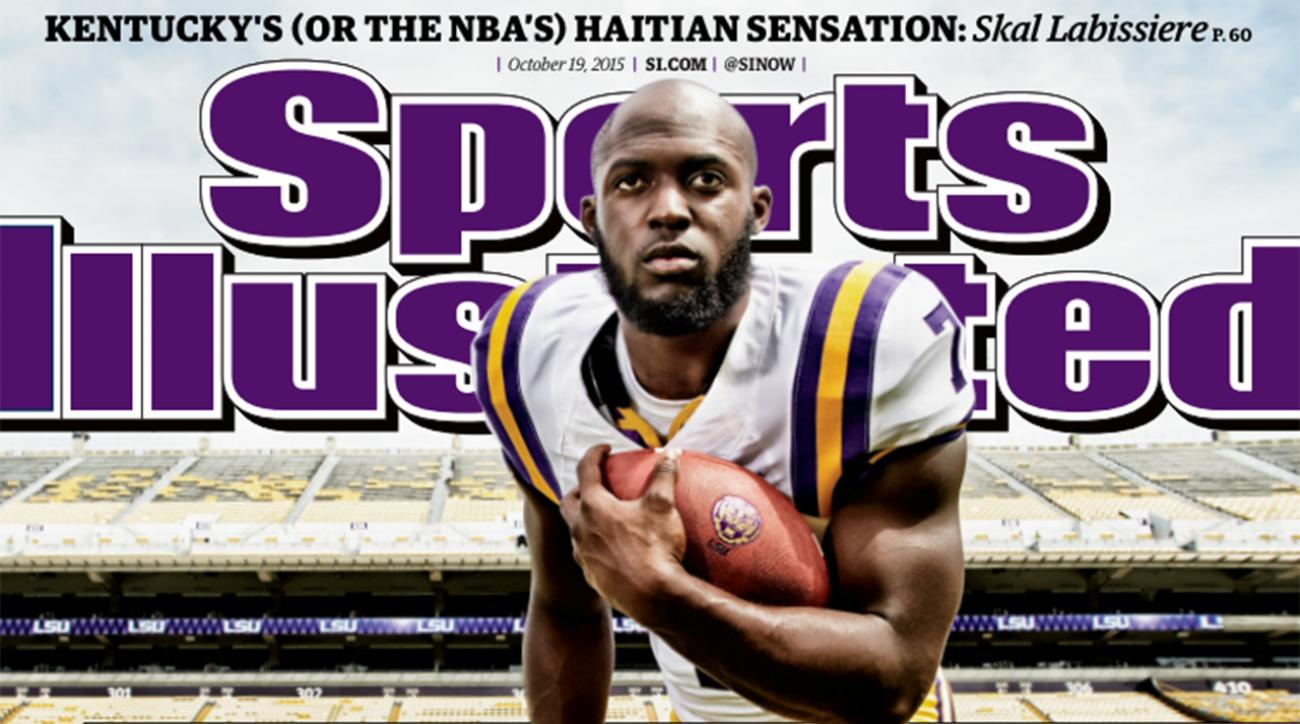 LSU RB Leonard Fournette lands Sports Illustrated cover