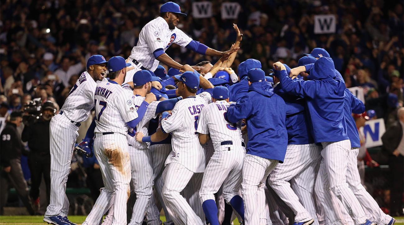 Cubs win NL Division Series with 6-4 win over Cardinals IMAGE