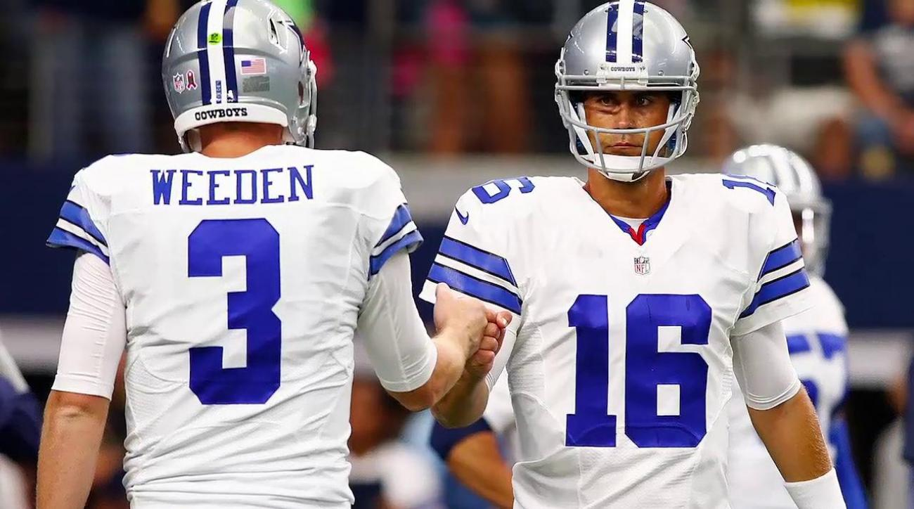 Brandon Weeden on Cowboys QB demotion: 'I'm pissed'