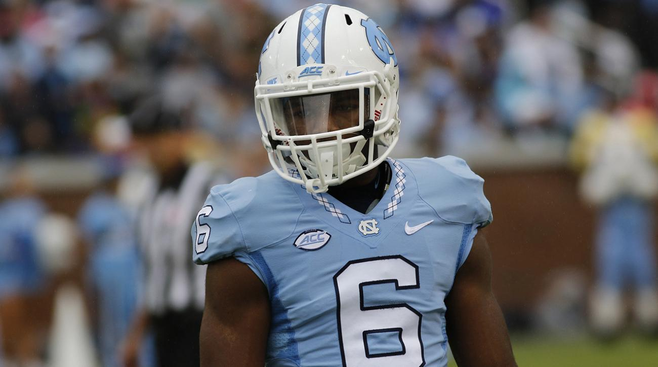 UNC suspends CBs Mike Hughes and and M.J. Stewart IMAGE