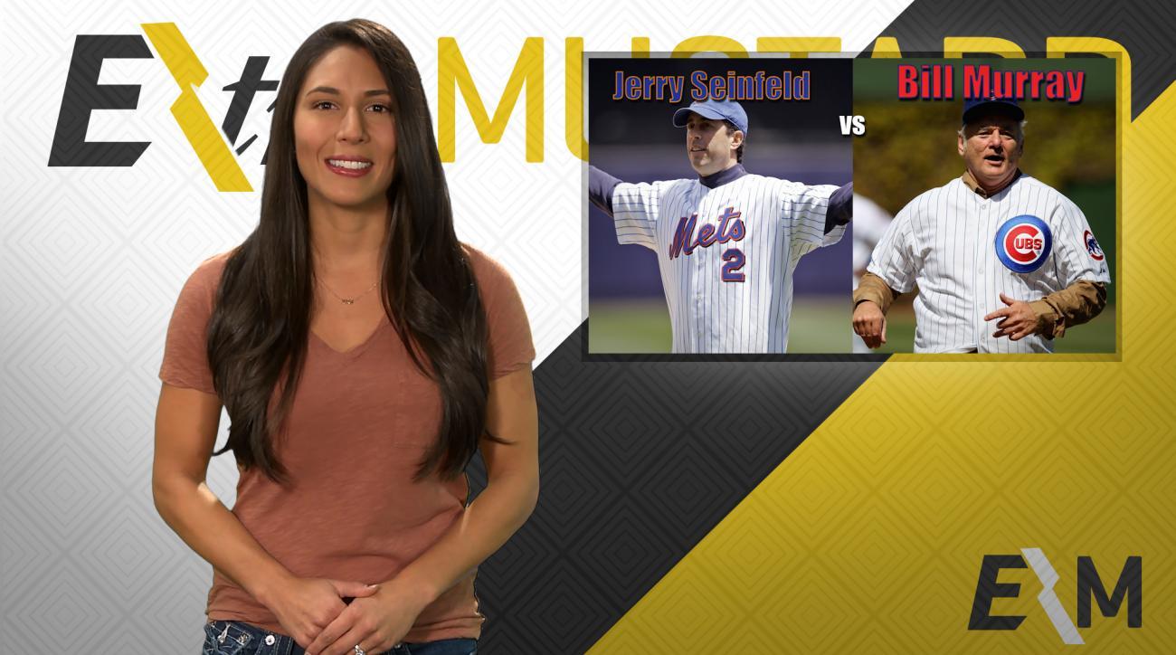 Mustard Minute: Jerry Seinfeld or Bill Murray? NLCS celebrity fan advantage IMG