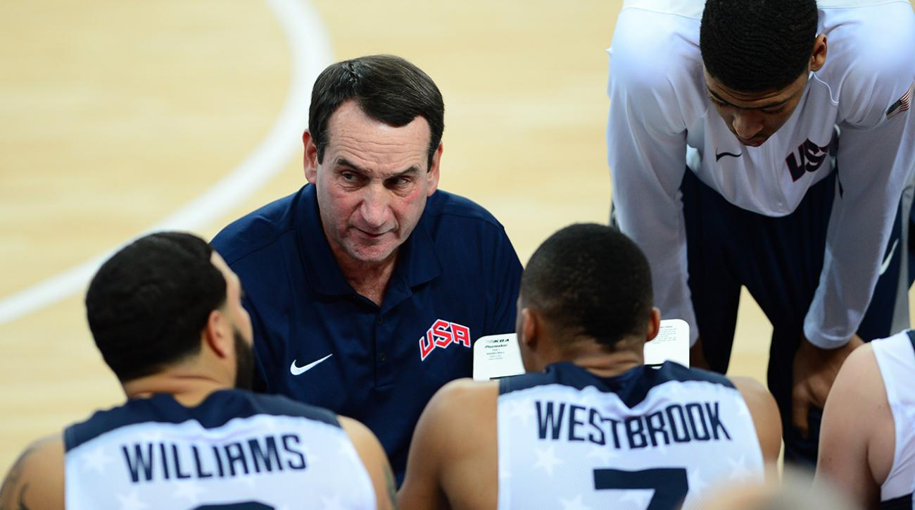Coach K stepping down as USA Basketball coach after 2016 Olympics