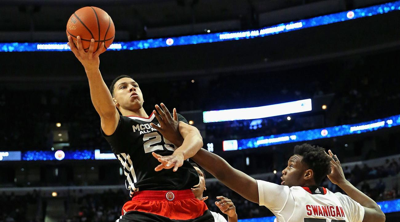 College Basketball Top 100: Ben Simmons IMG