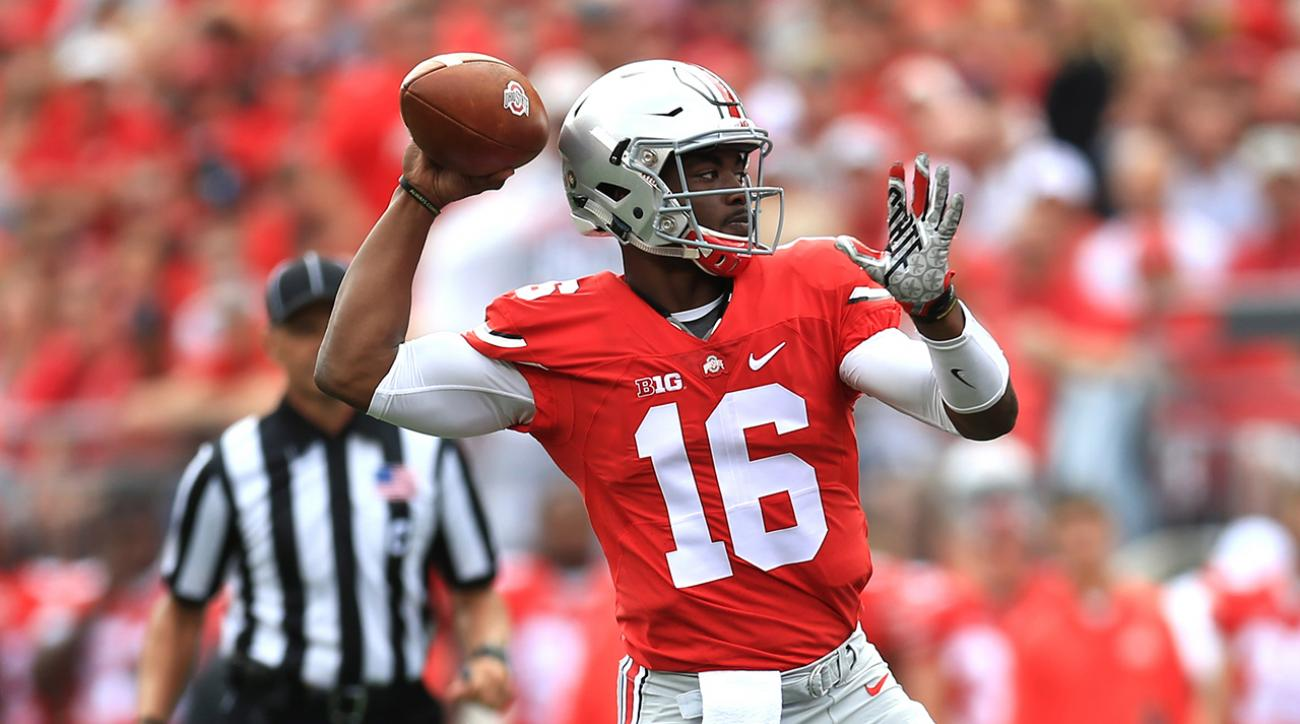 J.T. Barrett named Ohio State's starting QB against Rutgers
