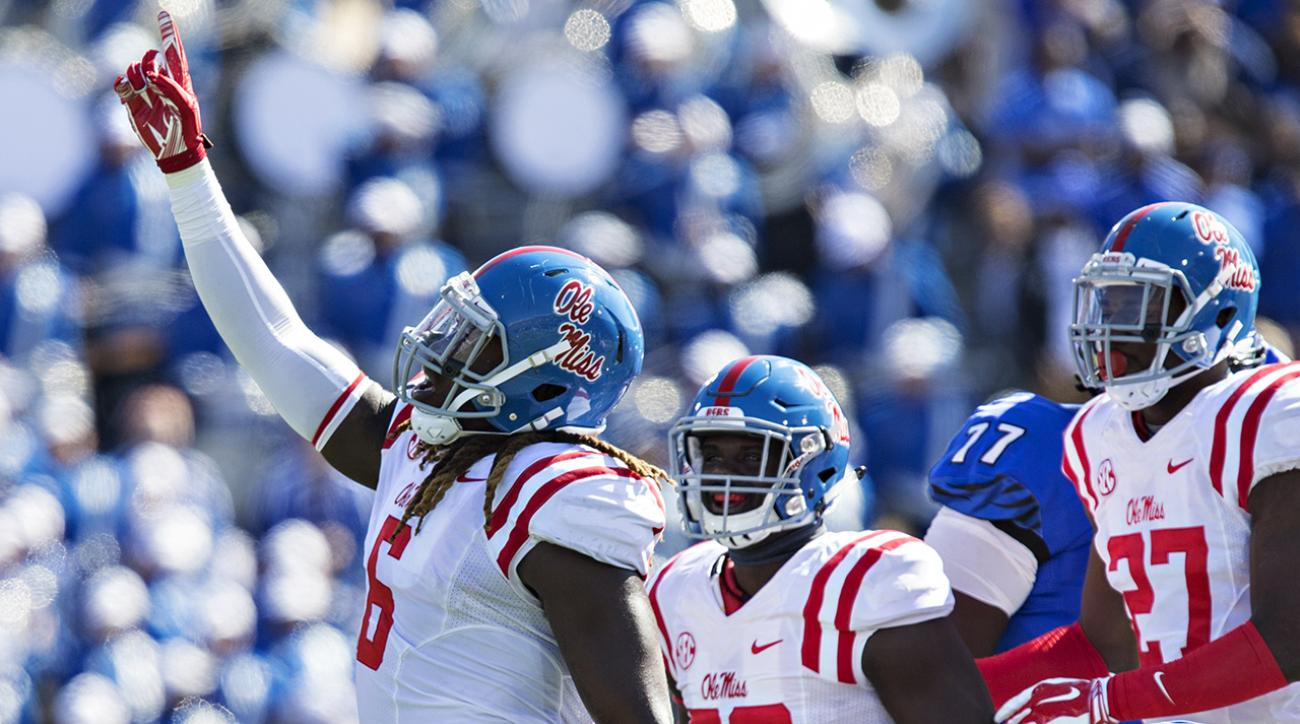 ncaaf, Ole Miss Rebels, si video, Texas A&M Aggies, sports illustrated, college football, week 8 college football, college football schedule