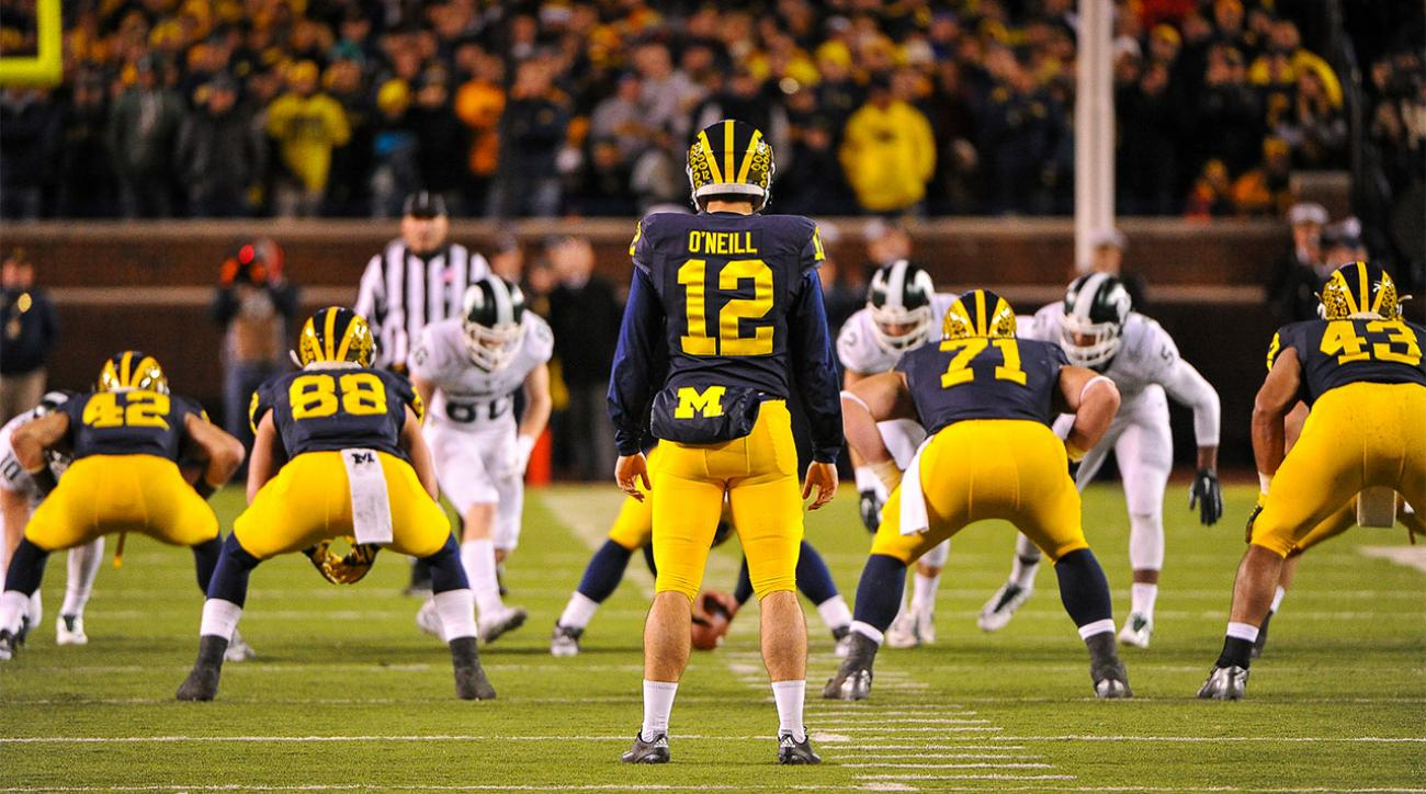 Brady Hoke: I wouldn't have punted on final play vs. Michigan State (IMAGE)