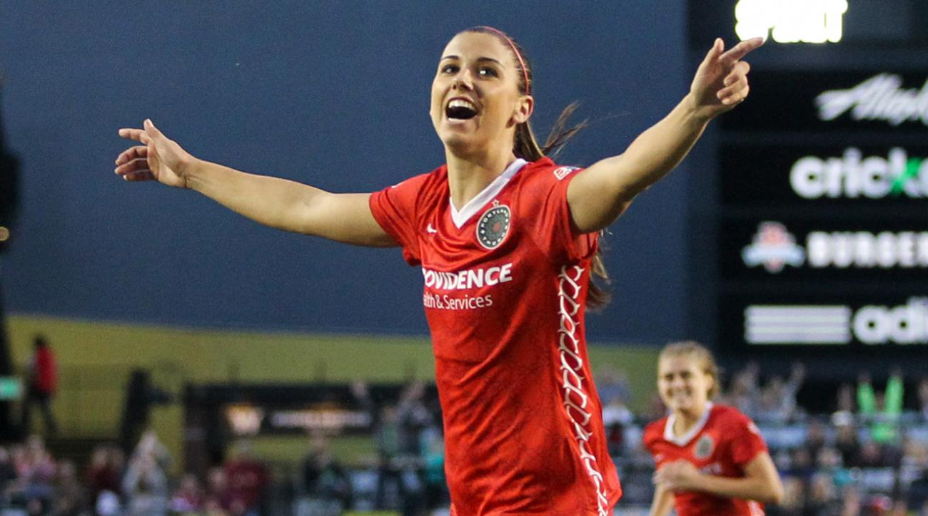 Source: Alex Morgan blockbuster NWSL trade to Orlando being finalized IMAGE