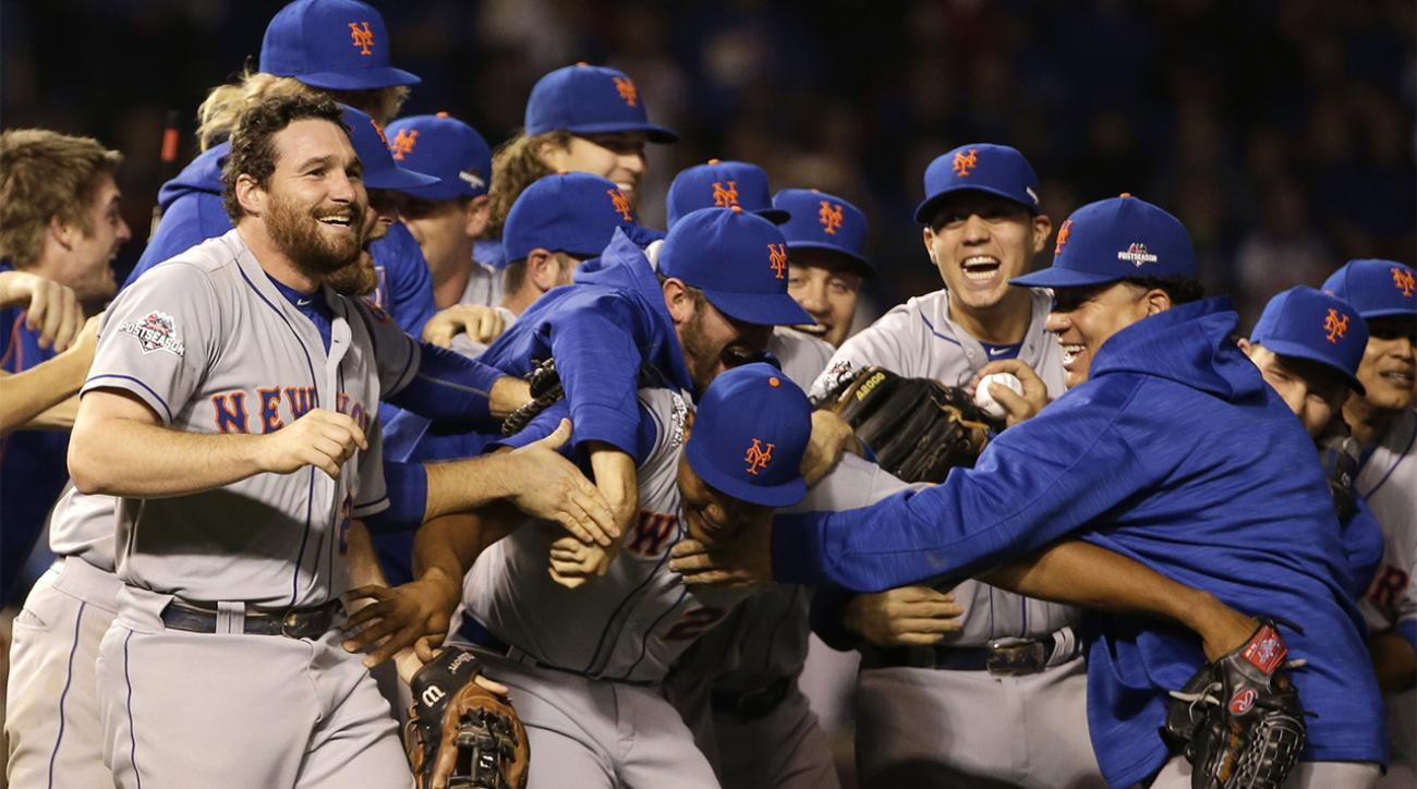 Red-hot Mets complete NLCS sweep of Cubs, punch World Series ticket IMAGE