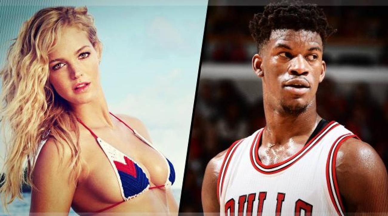 Jimmy Butler and Erin Heatherton Truth or Dare Horse